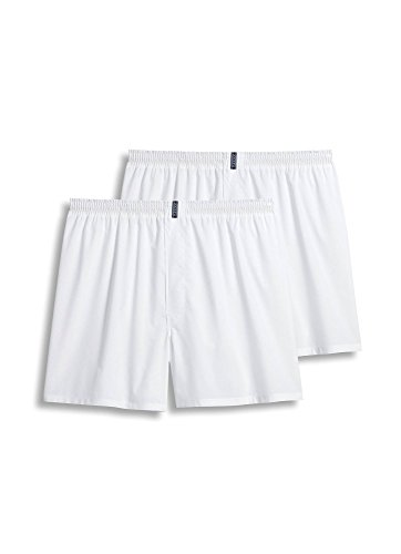 Jockey Men's Underwear Big Man Full Cut Boxer - 2 Pack, white, 2XL