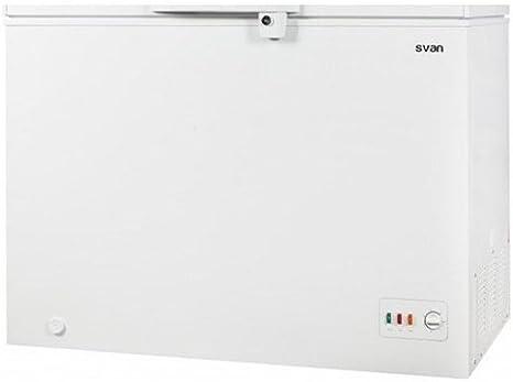 Congelador horizontal SVAN SVCH300DC A+, 300L: Amazon.es: Grandes ...