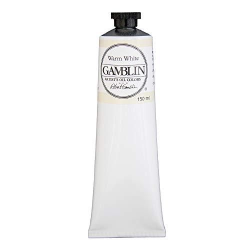Gamblin Artist Oil, 150ml Tube, Warm White (2805)