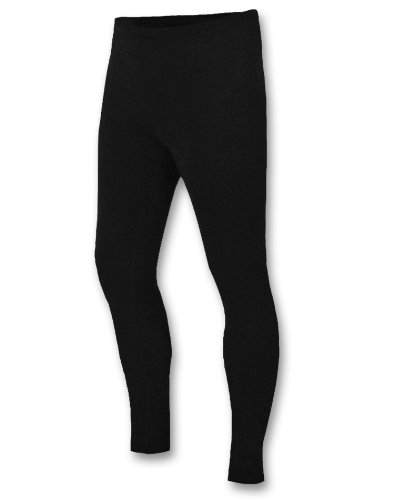 Duofold Men's Expedition Weight Two-Layer Thermal Tagless Bottom, Black,