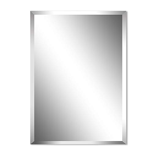 Beauty4U Rectangular Frameless Wall Mirrors-24 x 36