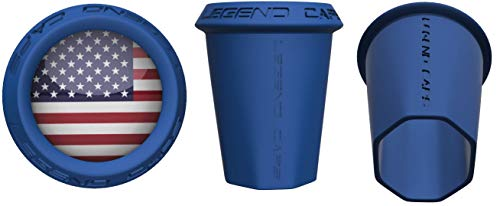 Legend Caps USA Lacrosse End Caps (End Cap Shaft)
