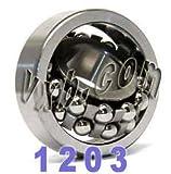 1203 Self Aligning Bearing 17x40x12 Ball Bearings