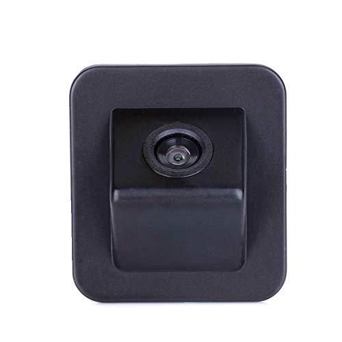 (Misayaee Rear View Back Up Reverse Parking Camera in Original Reverse Hole On Trunk Handle Bar Night Version (NTSC) for Hyundai Elantra Avante 2012-2015 /Kia cerato 2013-2017 /Hyundai i30 2014)