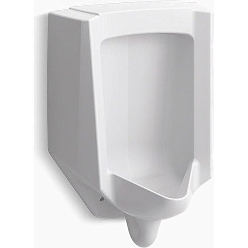 Bardon High-Efficiency Urinal (Heu), Washout, Wall-Hung, 0.13 gpf To 1 gpf Top Spud Finish: Black Black by Kohler