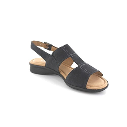 Gabor FLORENZ G 66.062.46 Damen Sandalette, Blau 43 EU in Übergrößen
