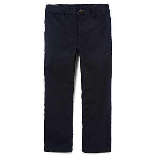The Children's Place Little Boys' Chino Pant, New Navy, 7 (Uniform Boys Pants Blue)