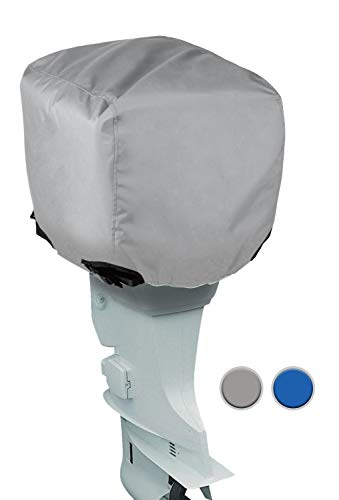 Leader Accessories Shore Guard Polyester Waterproof Outboard Motor Hood Cover, 50-115HP, 24