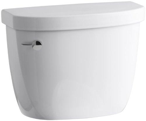 (KOHLER K-4421-0 Cimarron 1.28 gpf Class Five Toilet Tank, White)