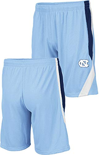 - NCAA Men's Team Color Rio Synthetic Shorts (Medium, UNC Tar Heels)