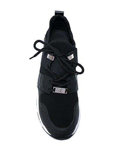 Philipp Plein Uomini Msc0367ple058n02k Nera Sneakers In Pelle