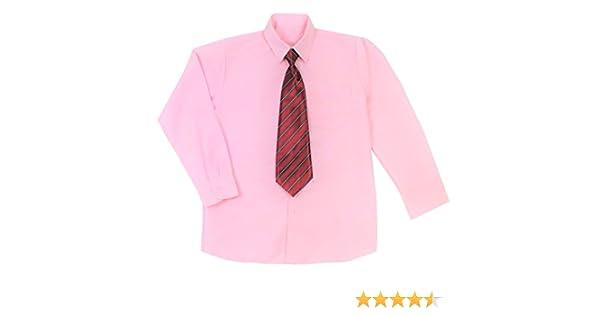 1000 Ting, Denmark Camisa Rosa con Corbata (1-14 años) (7 años / 124 cm.): Amazon.es: Ropa y accesorios