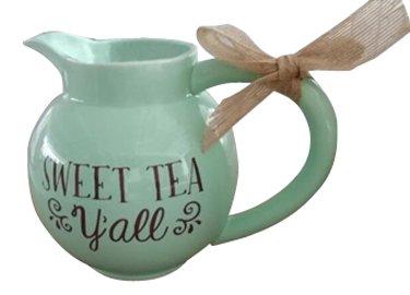 America Porcelain - Heart of America Ceramic Sweet Tea Pitcher