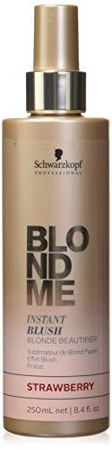 Schwarzkopf Professional BlondMe Instant Blush Temporary Hair Color 250ml (Strawberry)