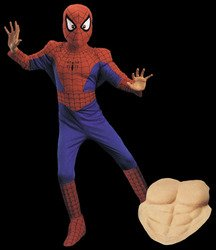 Boy's Costume: Spiderman Deluxe-Comic 12 to 14 PROD-ID : 566814