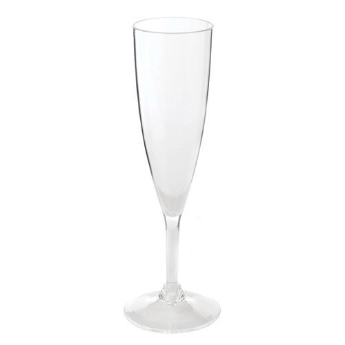 Acrylic Champagne Glass, Clear (Hardys Sparkling Wine)