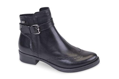 Valleverde 49122 Women's Nero Boots Stivaletti Scarpe Donna 7C87Bq