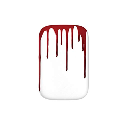 Flowing Blood Horror Spooky Halloween Zombie Scary Help Me Phrase Themed Illustration Portable Charger 10000mAh Power Bank External Battery Backup Pack Fast Charger for iPhone,Samsung Galaxy and More