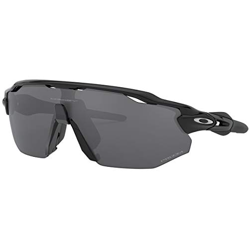 Oakley Men's Radar EV Advancer Sunglasses,OS,Polished Black/Prizm Black ()