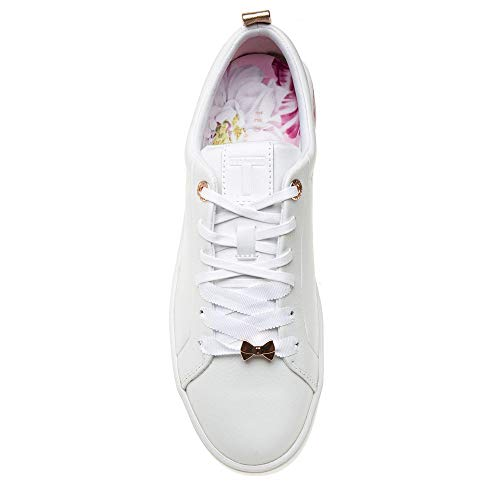 Baskets Femme Baker Blanc Ted Luocil wRaqqT