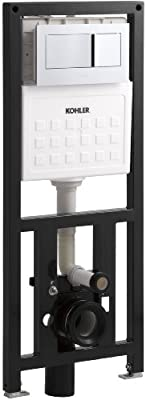 KOHLER K-6284-NA Veil In-Wall Tank And Carrier System