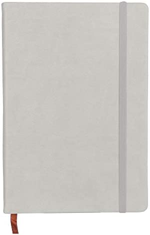 1 x Business Monatsplaner Cover Classic Notizblock Notizbuch Handbuch Tagebuch grau