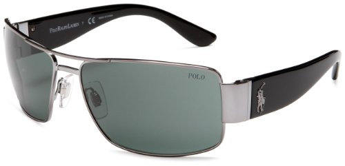 47102073b678 Polo Ralph Lauren Sunglasses PH 3041 900271 Gunmetal - Buy Online in UAE. |  Shoes Products in the UAE - See Prices, Reviews and Free Delivery in Dubai,  ...