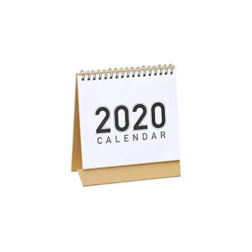[해외]Urnanal Standing Desktop Tent Calendar Free-Standing Desktop Monthly Calendar Planning Schedule Calendar Double Side Use DIY Desk Calendar for Family Office School 2019-2020 / Urnanal Standing Desktop Tent Calendar, Free-Standing D...