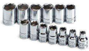 SK 13 13 Piece 3/8-Inch Drive 6 Point 7-Millimeter to 19-Millimeter Socket Set