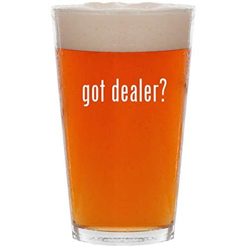 got dealer? - 16oz All Purpose Pint Beer Glass (Wheeler Dealers Best Cars)