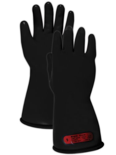 """Magid Safety M011B9 Electrical Gloves 