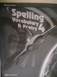 Download Spelling Vocabulary & Poetry 4 Tests pdf