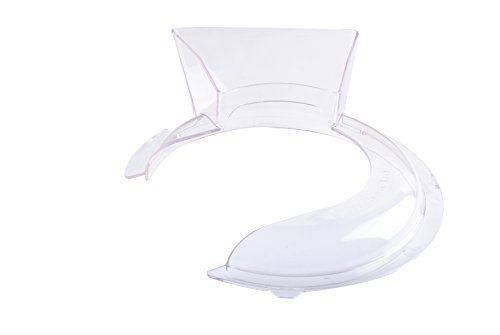 W10616906 Pouring Shield for Kitchenaid 4.5 & 5 Qt Stand Mixer KN1PS Fit K4 K5 KP50 KSM5 KSM50 By Wadoy (Pouring Mixer Shield)