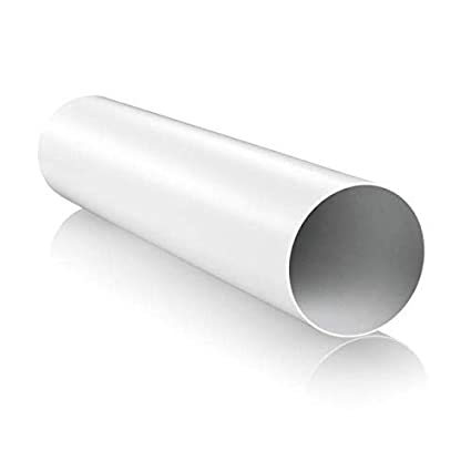 350mm Long Blauberg UK RR 150//0.35 6 inch 150 mm Round Plastic Ducting and Fittings for Extractor Fan Ventilation-150mm x 150mm Dia