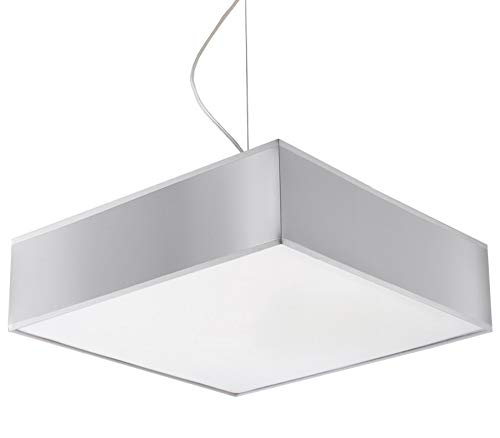 sollux Lighting Horus 35 - Lámpara de techo, PVC, Plata ...