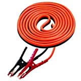 16' Medium Duty 6 Gauge Cables with 400 Amp Clamps Tools Equipment Hand Tools