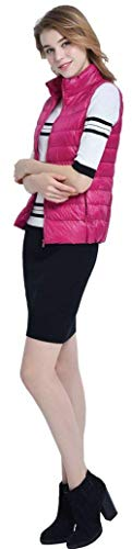 sans Col Warm Mode Manches Uni Automne Zipper Confortable Casual Gilet Fit avec Poches Vetements Duvet Outerwear Latrales Femme Matelass Elgante Roul Gilet Hiver Manche Gilet Slim en w0qaI67