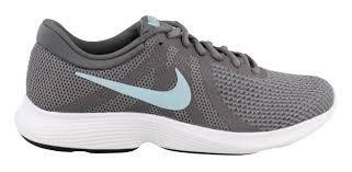 Nike Women's Revolution 4 Running Shoe Gunsmoke/Ocean Bliss/Dark Grey Size 7 M US (Place Ocean)