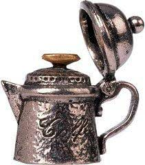 H:30mm Coffepot Pewter Thimble Great Gifts UK Dia:20mm