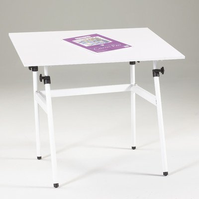 Martin U-DS1400C Berkley Drafting-Art Folding Table, With White Top, 30-Inch by 42-Inch Surface by Martin