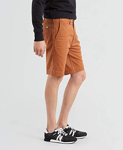 Kurze Levi´s Herren 502 Laver Boyau Slim Doux Jeans ® Rich Shorts Chino Brown qgTq6Sw