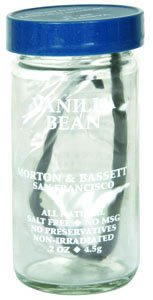 Morton & Bassett Vanilla Bean .1 OZ (Pack of 6)