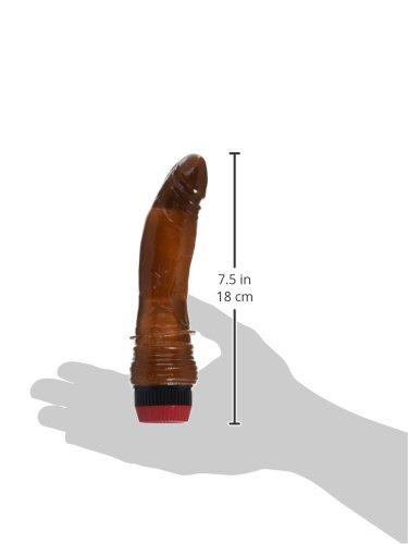 Nasstoys Jelly Cock Vibrator, Brown
