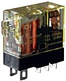 IDEC Corp. RJ1SCLD24 Plug-in Relay, SPDT, 12A, 24V DC