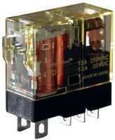 IDEC RJ1S-CLD-D24 POWER RELAY, SPDT, 24VDC, 12A, PLUG IN