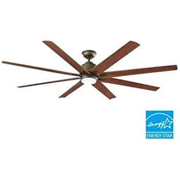 72 inch ceiling fan kensgrove home decorators collection kensgrove 72 in led indooroutdoor espresso bronze ceiling fan fanimation edgewood supreme inch oilrubbed with pull