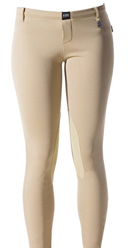 - Devon-Aire Women's All-Pro Max Pull-On Breeches, X-Large, Beige