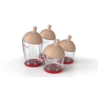 Image of Baby mimijumi Get Going Breastfeeding Bottle Kit, Set of 4