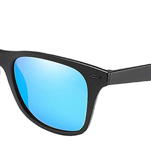 De Polarisées Bleu Verres Soleil B Uv400 Baosity Lunettes aUq86E