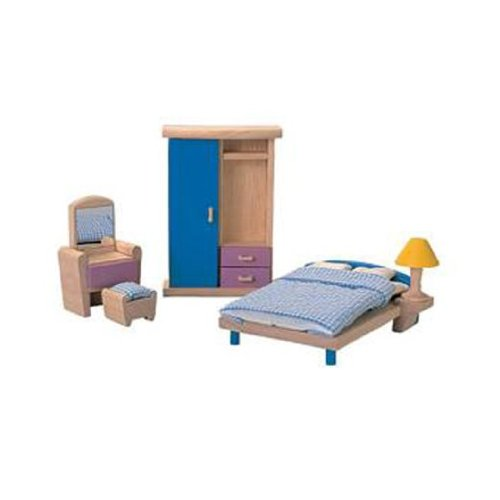 Plan Toys Doll House Bedroom - Neo Style